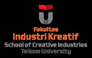 Logo Fakultas Industri Kreatif - Telkom University