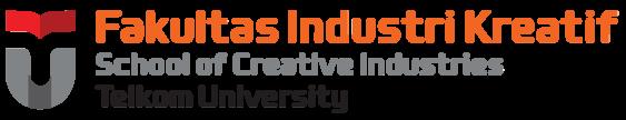 Logo Fakultas Industri Kreatif Telkom University