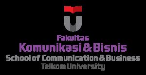 Logo Fakultas Komunikasi dan Bisnis - Telkom University