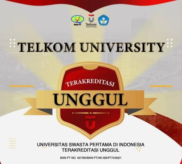 Akreditasi Telkom University