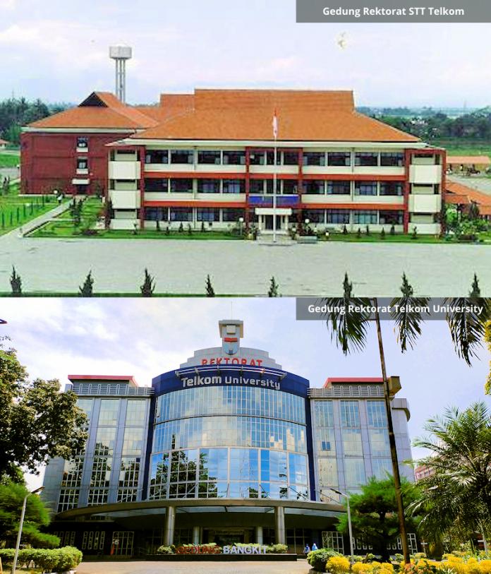 Gedung Rektorat STT Telkom dan Telkom University