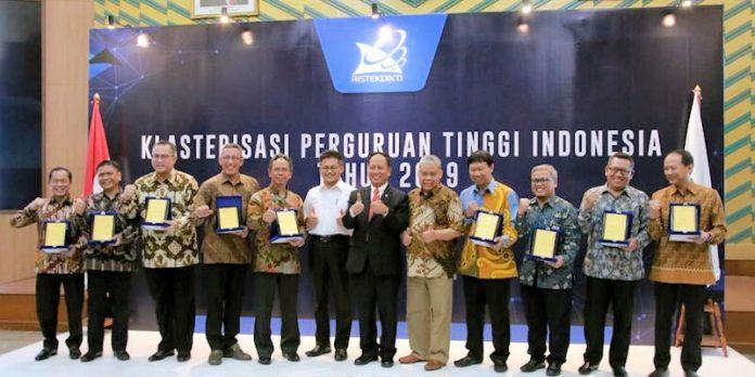 Pengumuman Klasterisasi Perguruan Tinggi Indonesia Tahun 2019 - KEMENRISTEKDIKTI
