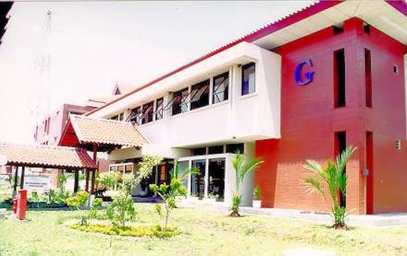 STT Telkom - Gedung Perpustakaan Bagian Belakang