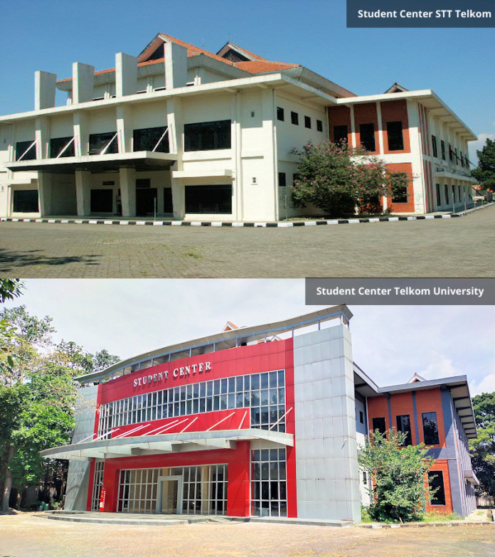 Student Center STT Telkom vs Telkom University